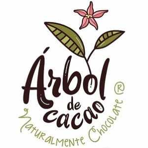 logo chocholate arbol de cacao